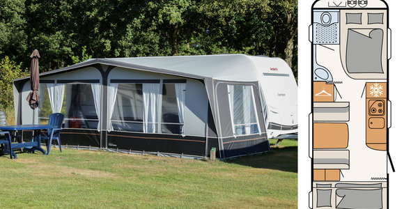 Camper 530 4 persoons