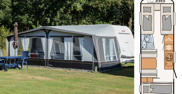 Camper 550 4 persoons
