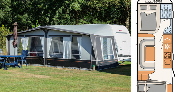 Camper 560 5 persoons